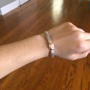 monet bracelet silverfront clip clasp